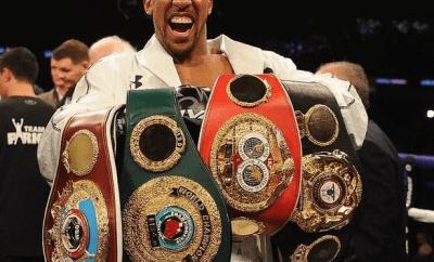 Anthony Joshua to present world championship belts to President Buhari