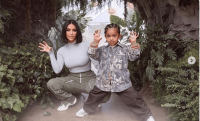 Kim Kardashian shares never-before-seen photos from her son Saint