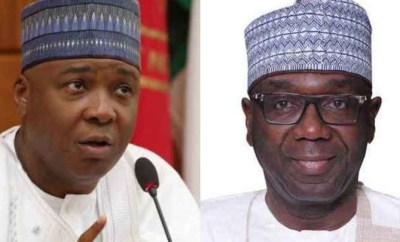 You have crossed the line ? Saraki slams Governor Abdulrazaq over revocation of land assigned to his late father