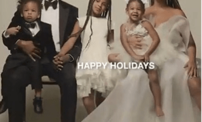 Jay-Z and Beyonce pictured together with their children in lovely family photo