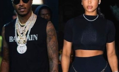 Future and his new girlfriend Lori Harvey spotted celebrating the new year together in Las Vegas (Video)
