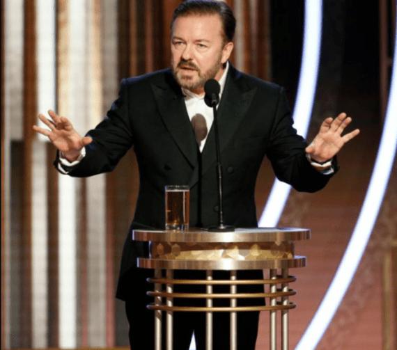 Transcript of Ricky Gervais 2020 Golden Globes opening speech where he blasted celebrities  (video)