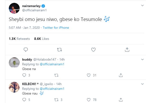Naira Marley retweets a screenshot of the sex tape of Apostle Chris Omashola who called him a demon
