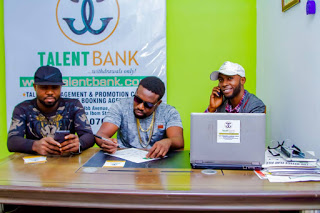 Image result for MC Spinosky Signs On Talent Bank Nigeria""