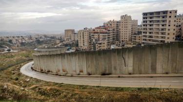 Jewish settlement of Pisgat Zeev in Israeli-occupied East Jerusalem (11 February 2020)