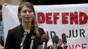 Former US Army intelligence analyst Chelsea Manning