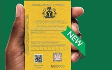 Coronavirus: Passengers without valid Yellow Card can no longer board flights ? NCAA