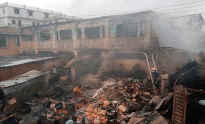 Fire razes 23 shops in Kwara market