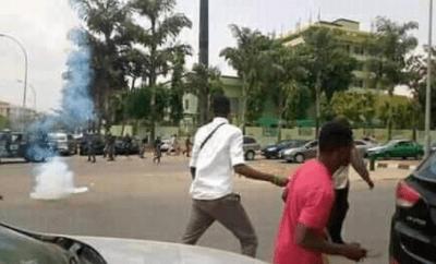 Shiites members, police clash in Abuja (photos)