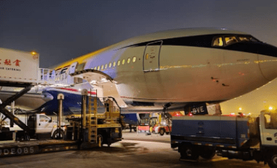 COVID-19: Medical kits donated by Chinese firm depart China, enroute Nigeria (photos)