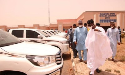 Nasarawa buys N500m cars for lawmakers despite having no single ventilator in that state