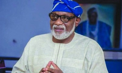 Governor Akeredolu expresses disappointment with porosity of state borders as policeman from Lagos tests positive for Coronavirus in Ondo