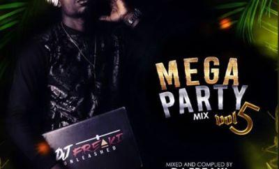 Dj Freaki - Mega Party Mixtape (Vol 5)