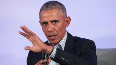 Barack Obama, speaking here at an event in 2019, was president of the US from 2009 to 2017