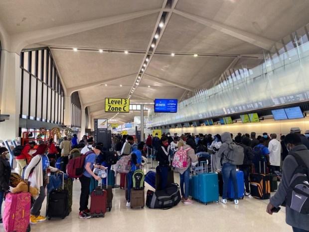 160 Nigerians evacuated from the US due to Coronavirus pandemic arrive Abuja (photos)