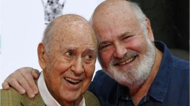 Carl and Rob Reiner