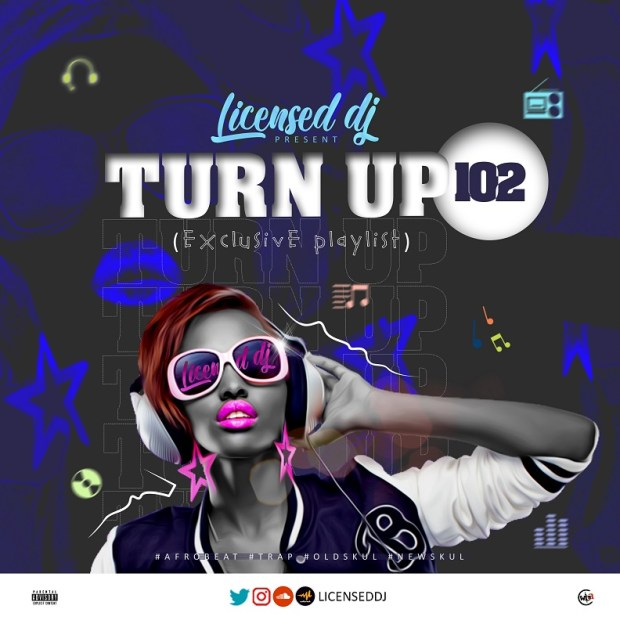 Licensed Dj - Turn Up 102 Mixtape