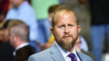 Brad Parscale, file picture, 2 October 2018
