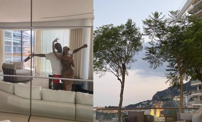 "Mr.Eazi calls Temi Otedola his ""wifey"" as he reveals she flew him out to Monaco for his 29th birthday (Photos/Video)"