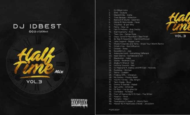 DJ IDBest - Half Time Mix 3 - LYRICAL4CES