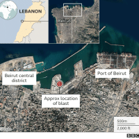 Beirut Blast: Dozens Dead And Thousands Injured, Health Minister Says