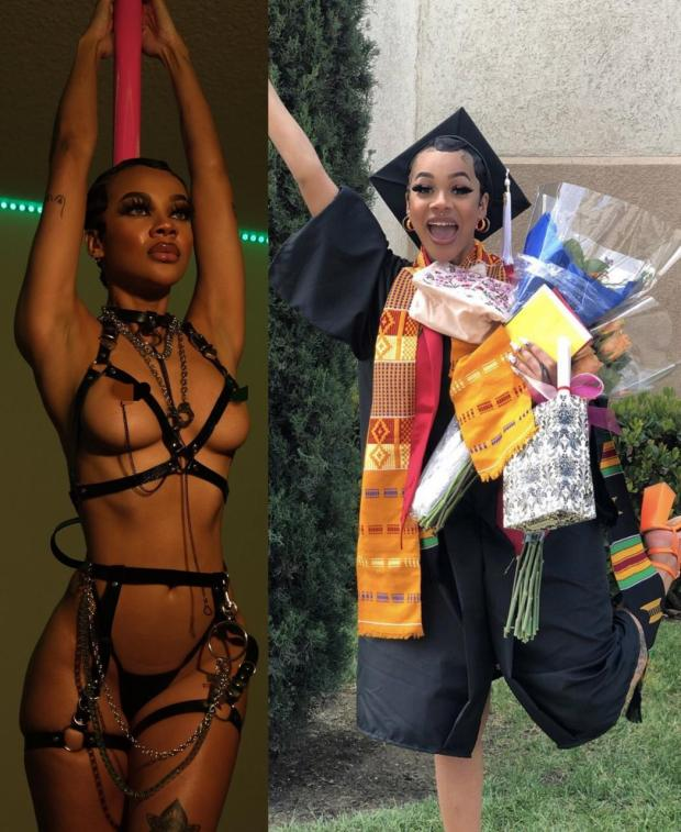 Educated sex worker rejoices as she graduates but makes it clear she
