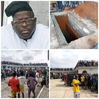 Senator Buruji Kashamu's Body Laid To Rest in Ogun [Photos/Video]