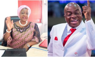 As long as Oyedepo lives and operates within the entity called Nigeria, he will live  by Nigerian rules and laws - Lauretta Onochie