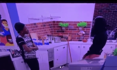 Pregnancy scare? Vee tells Neo to be scared as she complains about missing her period in the Big Brother House (videos)