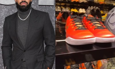 Drake shows off his massive collection of Kobe sneakers to pay tribute to the NBA legend on what would have been his 42nd birthday (Video)
