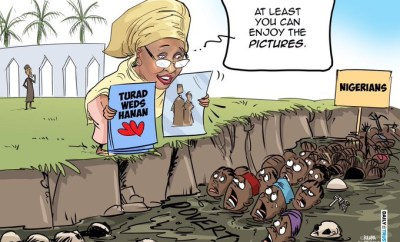 My cartoon on Hanan Buhari?s wedding meant no harm - Mustapha Bulama