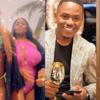 Cheating Scandal: Actor Timini Egbuson's Girlfriend, Lydia Dragged By Alleged Side Chick And Her Friends