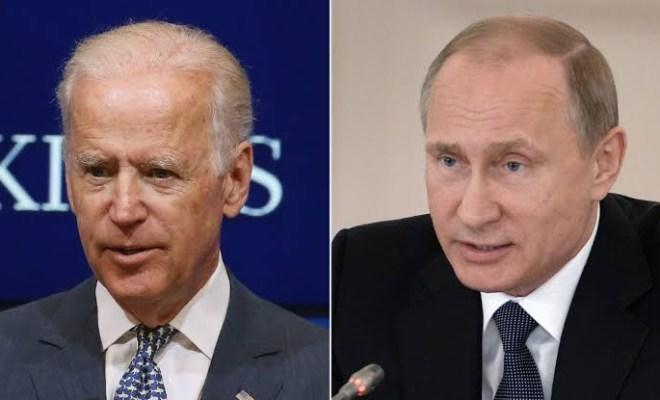 Russian president Vladmir Putin