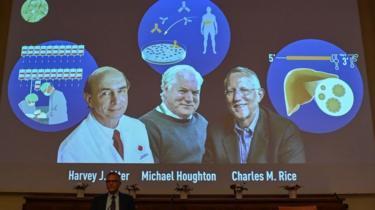 The three scientists