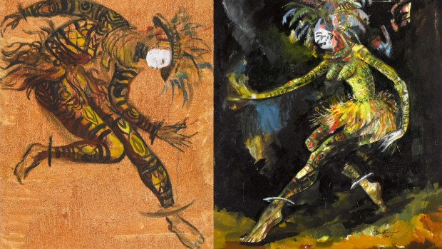 Composite of two art works