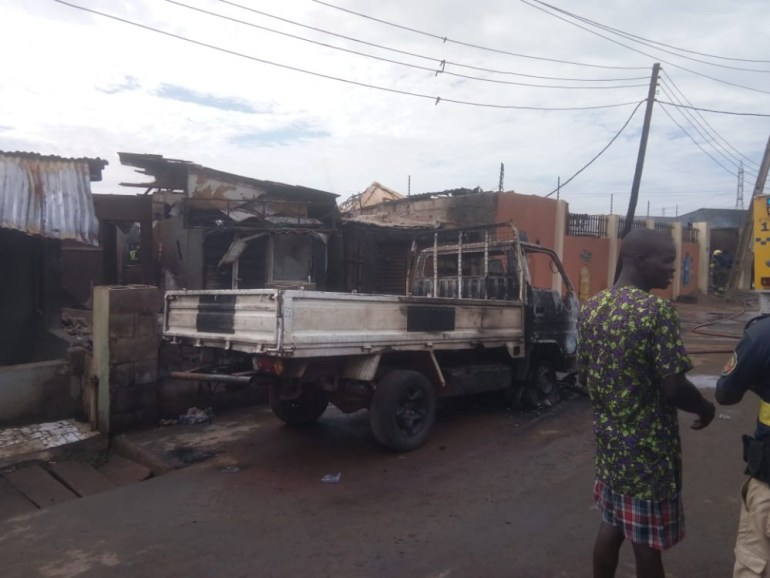Update: Eight confirmed dead in gas explosion in Lagos (photos)