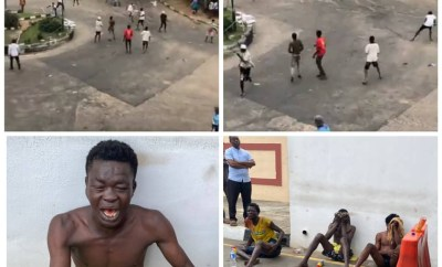 Hoodlums attempt to disrupt?#EndSARS?protest in Lagos (videos)