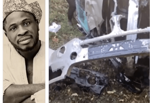 Comedian Craze Clown survives ghastly car accident (video)