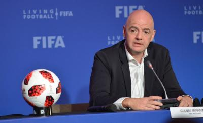 FIFA president, Gianni Infantino tests positive for Coronavirus