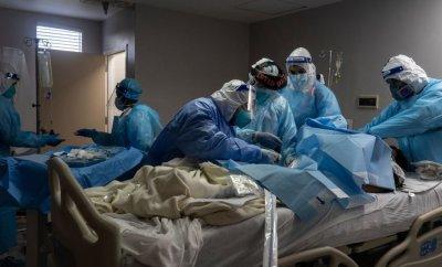 Houston, Texas, hospital Covid ward