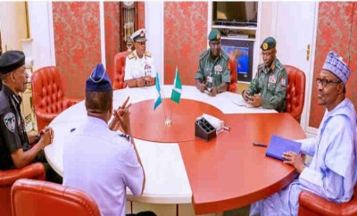 Sack Service Chiefs now- North-East elders tell President Buhari