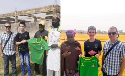 Hilarious reactions as Kano Pillars sign young American-born football player who relocated to Nigeria with his parents
