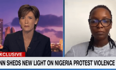 #EndSARS: Nigeria practices dictatorship with democratic face - DJ Switch speaks to CNN