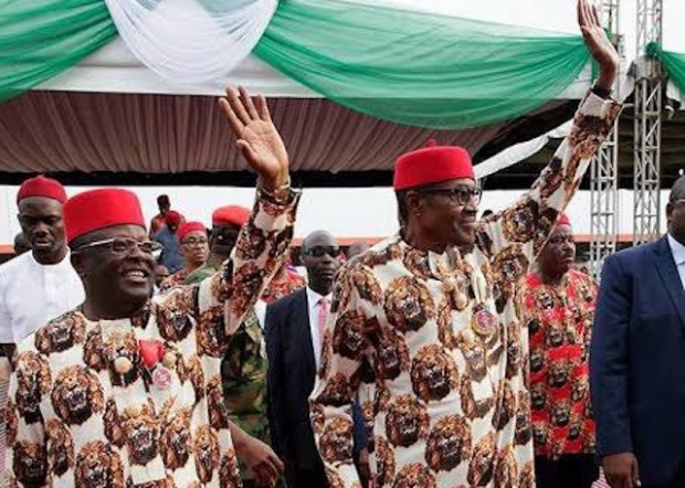 I know people might call him names, but that is the price men of principles have to pay - President Buhari reacts to Gov Umahi