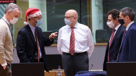 Coreper meeting, 25 Dec 20