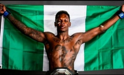 Israel Adesanya wins Fighter of the Year at the World MMA Awards for the second year in a row
