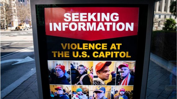 FBI wanted poster seen in DC