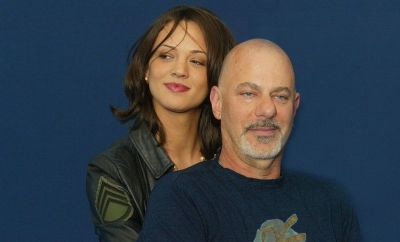 Asia Argento and Rob Cohen