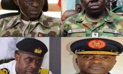 Meet the new service chiefs (photos)