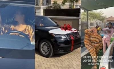 D?Banj gifts wife Range Rover Velar on Valentine?s day